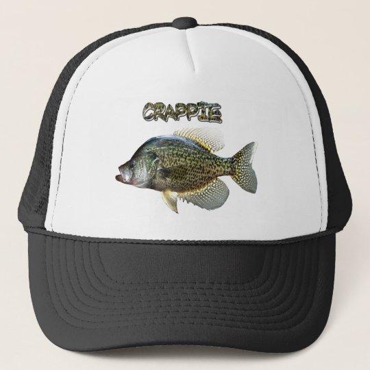 2494f1fbdeb95 Crappie fishing trucker hat
