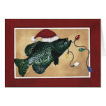 Crappie Holidays Greeting Card