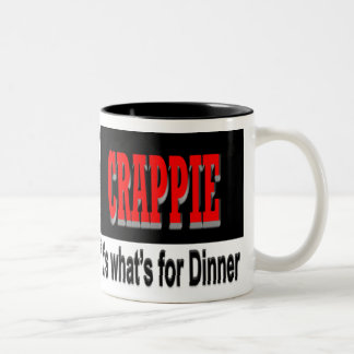 Crappie it's what's for dinner mug