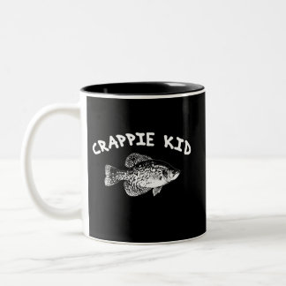 CRAPPIE KID Two-Tone COFFEE MUG