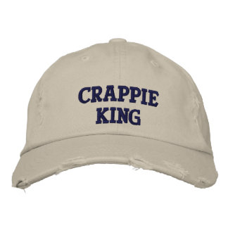 Crappie King - Customizable Embroidered Hat