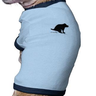 """""""Crapping en crueldad """" Camisas De Perritos"""