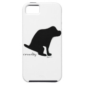 """""""Crapping On Cruelty"""" iPhone SE/5/5s Case"""