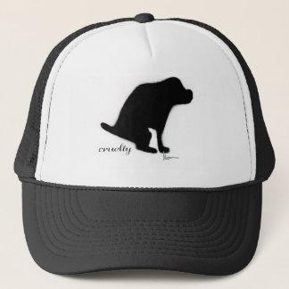 """Crapping on Cruelty"" Trucker Hat"