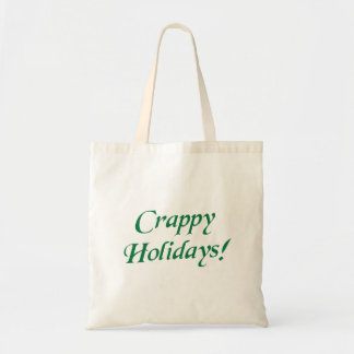 Crappy Christmas Happy Holidays Bags