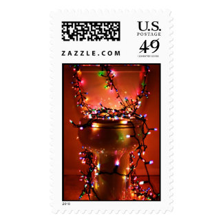 Crappy Christmas Postage Stamps