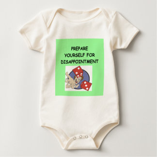 craps baby bodysuit