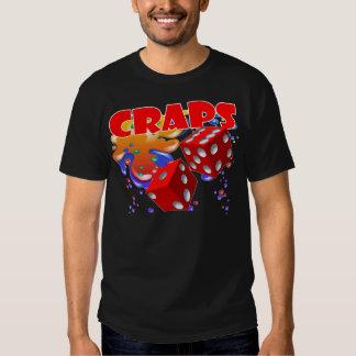 craps bubbles tee shirt