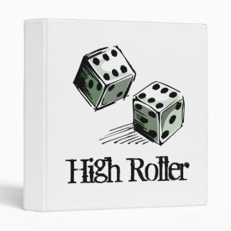 Craps Dice High Roller Gambling Binder