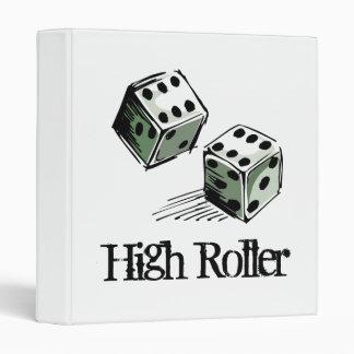 Craps Dice High Roller Gambling Binder