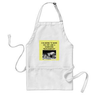 craps joke adult apron