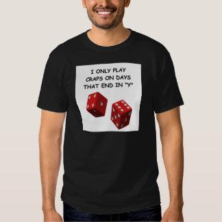 craps joke t-shirt