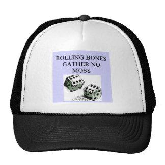 craps joke trucker hat