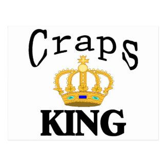 Craps King Postcard