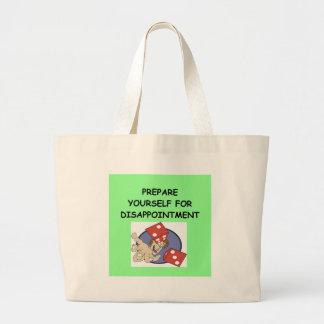 craps large tote bag