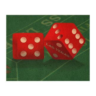 Craps Table & Las Vegas Dice Queork Photo Prints