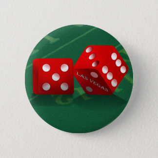 Craps Table With Las Vegas Dice Button