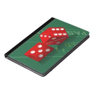 Craps Table With Las Vegas Dice iPad Air Case