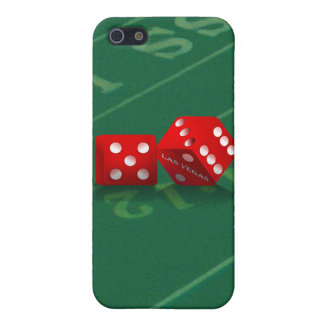 Craps Table With Las Vegas Dice iPhone SE/5/5s Cover