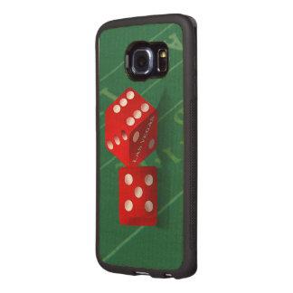 Craps Table With Las Vegas Dice Wood Phone Case
