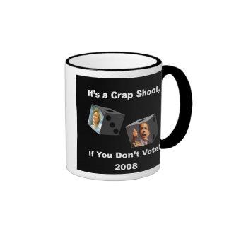 crapshoot ringer coffee mug