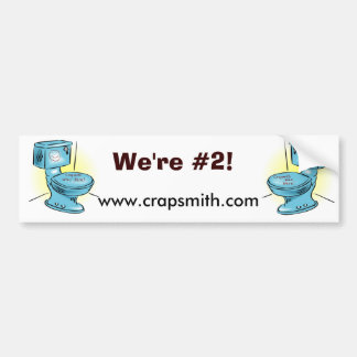 Crapsmith Bumper #2 Bumper Sticker