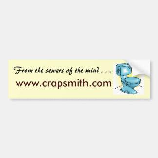 Crapsmith Bumper Bumper Sticker