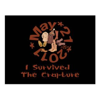 Crapture Survivor Postcard