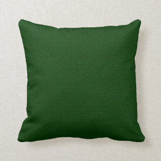 Craquelure Textured Dark Green Pillow