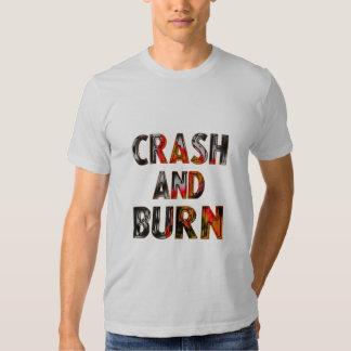 Crash and burn remeras