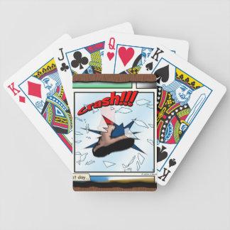 Crash!!! Bicycle Playing Cards
