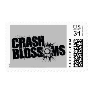 Crash Blossoms Postage