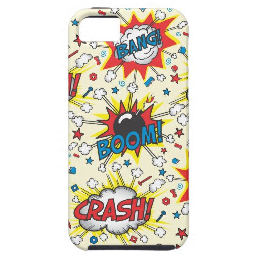 Crash,Boom, Bang iphone4 Cell phone case iPhone 5 Case