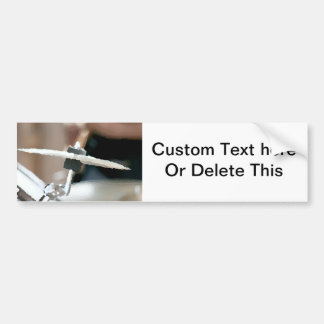 Crash cymbal painterly drumset side music design bumper stickers