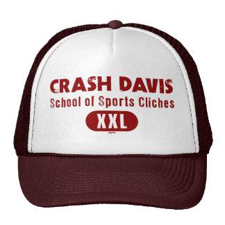 Crash Davis School of Sports Cliches Trucker Hat