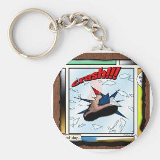 Crash!!! Keychain