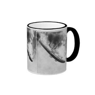Crash of German Navy Zeppelin L2 Ringer Coffee Mug