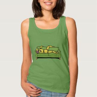 Crash Pad Tets Dummy Tank Top