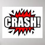 Crash! Posters