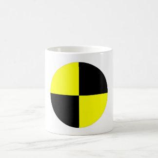 crash test dummies symbol sign car accident coffee mug