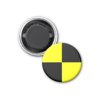 crash test dummies symbol sign car accident magnet