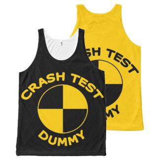 Crash Test Dummy All-Over-Print Tank Top