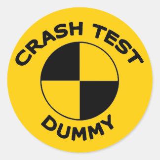 Crash Test Dummy Stickers  Zazzle