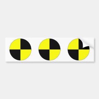 Crash Test Dummy Marker Bumper Sticker