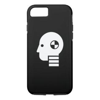 Crash Test Dummy Pictogram iPhone 7 Case