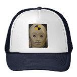 Crash test dummy trucker hat