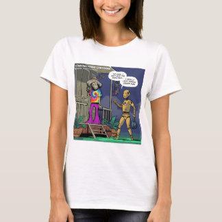 Crash Test Hippie Funny T-Shirt