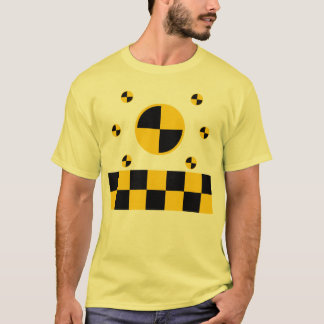 Crash Test Markers Graphics T-Shirt