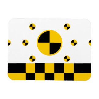 Crash Test Markers Magnet