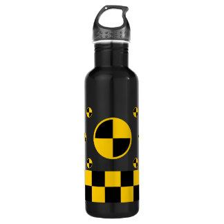 Crash Test Markers Water Bottle